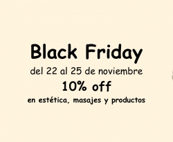 Black Friday en Estética